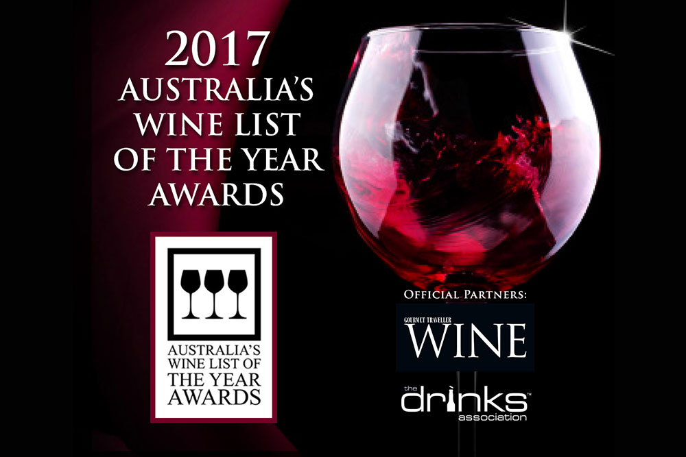 Australia's Wine List of the Year 2017 | Entries Open