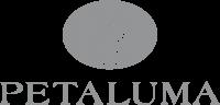 Petaluma Logo - Grey